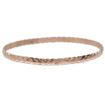 OGB002/ 4mm Barrel Cut Out Bangle 1.5mm