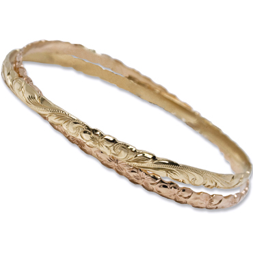 OGB044/ 4mm Double Bangle Cut Out 1.25mm